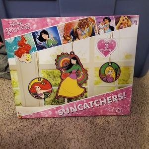 Disney Princess Ariel Mulan Suncatchers Craft